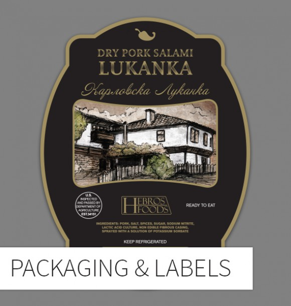Packaging & Label Design